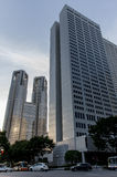 Edificio metropolitana Tokio del gobierno de Tokio Fotos de archivo libres de regalías