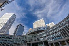 Edificio metropolitano de la asamblea de Tokio foto de archivo