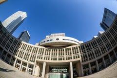 Edificio metropolitano de la asamblea de Tokio foto de archivo libre de regalías