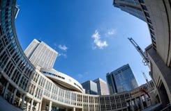 Edificio metropolitano de la asamblea de Tokio imagen de archivo libre de regalías