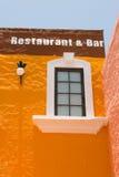 Edificio mexicano de la barra Fotos de archivo libres de regalías