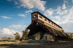 Edificio minero abandonado viejo Fotos de archivo