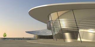 Edificio moderno 01 Foto de archivo libre de regalías