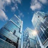 Edificio moderno ilustración del vector