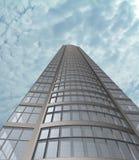 Edificio moderno (3D). Fotografía de archivo