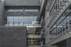 Edificio moderno Arkivbild