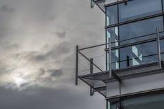Edificio moderno Fotografering för Bildbyråer