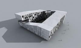 Edificio moderno abstracto Fotos de archivo