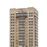 Edificio moderno aislado Fotos de archivo