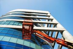 Edificio moderno alto Imágenes de archivo libres de regalías