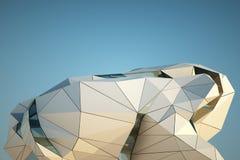 Edificio moderno céntrico Imagenes de archivo