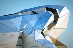 Edificio moderno céntrico Fotos de archivo libres de regalías