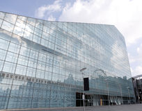 Edificio moderno de Urbis A en Manchester Imagenes de archivo