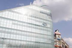 Edificio moderno de Urbis A en Manchester y Printwo Fotografía de archivo libre de regalías
