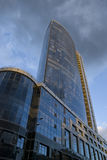 Edificio moderno del asunto Imagen de archivo libre de regalías