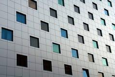 Edificio moderno del asunto Foto de archivo libre de regalías