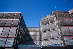 Edificio moderno del asunto Fotografía de archivo