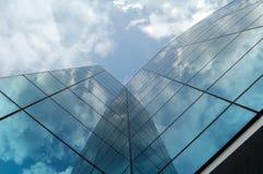 Edificio moderno del asunto Imagenes de archivo