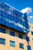 Edificio moderno del asunto imagen de archivo
