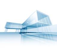 Edificio moderno del concepto ilustración del vector