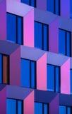 Edificio moderno del detalle Fotografía de archivo libre de regalías