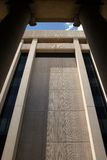 Edificio moderno del gobierno Imágenes de archivo libres de regalías