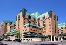 Edificio moderno del hospital Imagen de archivo libre de regalías