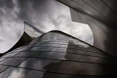 Edificio moderno del metal Foto de archivo libre de regalías