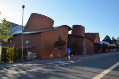 Edificio moderno del museo de Marta Herford Imagenes de archivo