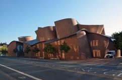 Edificio moderno del museo de Marta Herford Foto de archivo libre de regalías