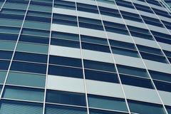 Edificio moderno del negocio de Windows Imagen de archivo libre de regalías