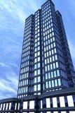 Edificio moderno, delantero Fotografía de archivo