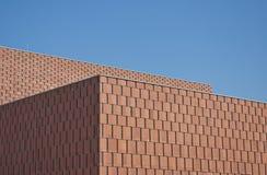 Edificio moderno di Minimalistic, città universitaria di architettura Fotografia Stock