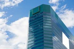 Edificio moderno en ciudad fotografía de archivo