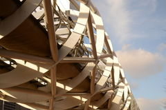 Edificio moderno en Den Haag Fotografía de archivo libre de regalías