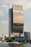 Edificio moderno en Dubai Creek Foto de archivo