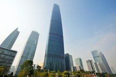 Edificio moderno en guangzhou Fotografía de archivo libre de regalías