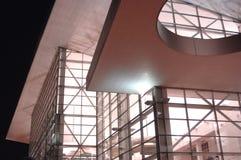 Edificio moderno en la noche 21 Fotos de archivo libres de regalías