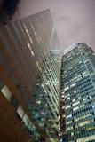 Edificio moderno en la parte central de Hong Kong Imágenes de archivo libres de regalías