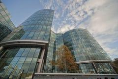 Edificio moderno en Londres Fotos de archivo libres de regalías