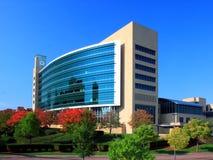 Edificio moderno en Minneapolis céntrica Imagenes de archivo
