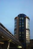 Edificio moderno en Moscú fotos de archivo libres de regalías