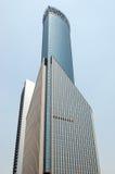 Edificio moderno en Shangai Imágenes de archivo libres de regalías