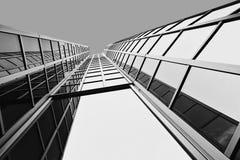 Edificio moderno en Zagreb, Croacia Imagenes de archivo