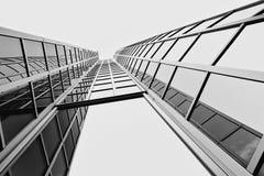 Edificio moderno en Zagreb, Croacia Imagen de archivo