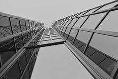 Edificio moderno en Zagreb, Croacia Imágenes de archivo libres de regalías
