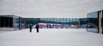 Edificio moderno - Energias de Portugal Foto de archivo