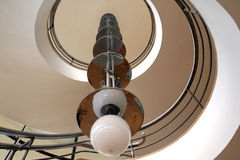 Edificio moderno interior imágenes de archivo libres de regalías