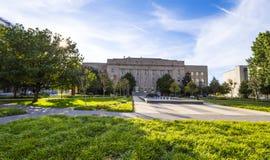 Edificio municipal en el Oklahoma City - OKLAHOMA CITY - OKLAHOMA - 18 de octubre de 2017 fotografía de archivo libre de regalías