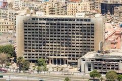 Edificio nacional quemado del partido Democratic Fotografía de archivo libre de regalías